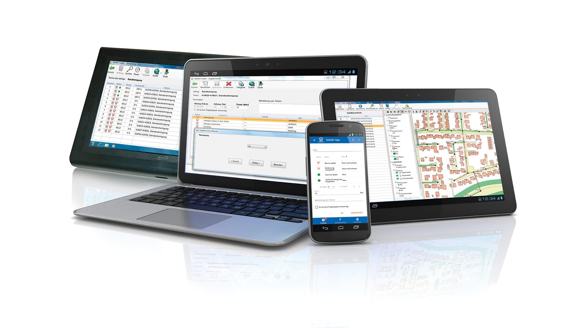 Modul mobil - effiziente Auftragsbearbeitung 1