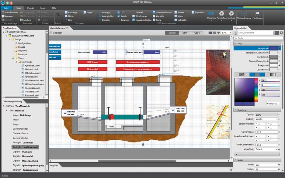 SCADA V10 Visualisierung und Bedienen 2
