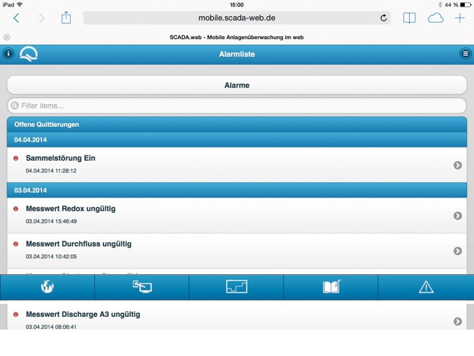 SCADA V10 Alarm-Management 3