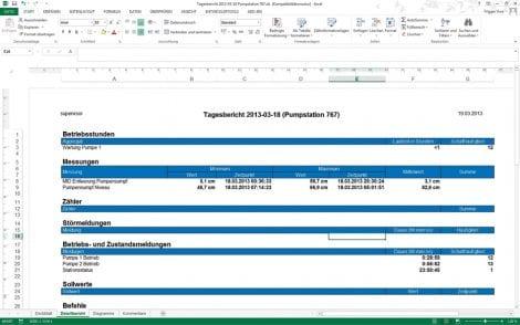 SCADA V10 Berichte und Protokolle 2